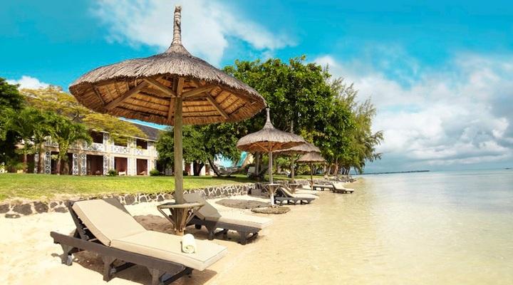 Een 4-sterrenresort op Mauritius