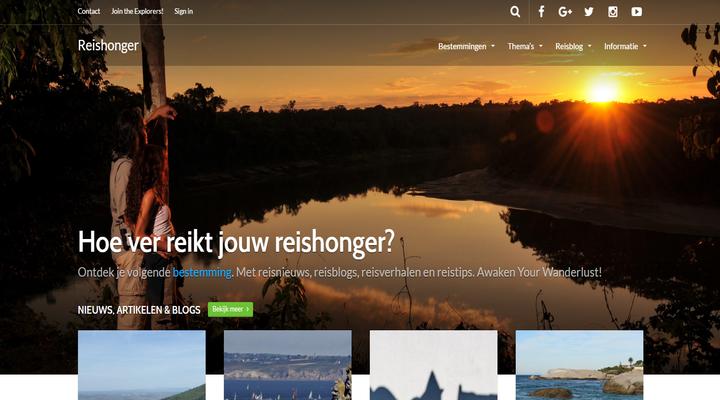 De reisblog Reishonger