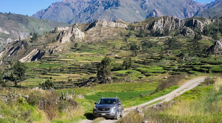 Met de auto rondreizen in Peru