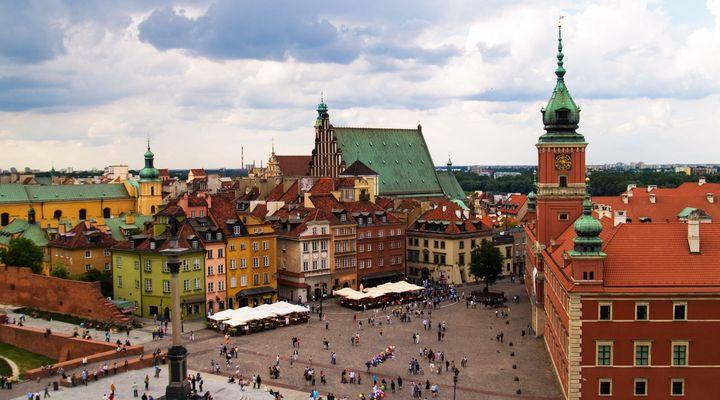 Stadsplein Warschau