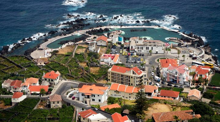 Porto Moniz op Madeira