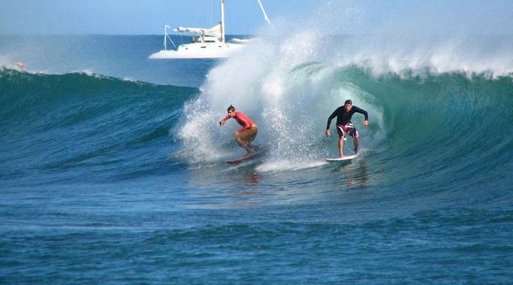 Surfen op een onbekende bestemming