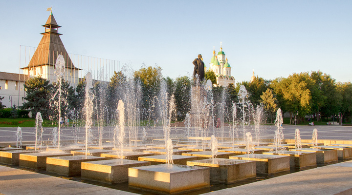 Kaviaarhoofdstad Astrachan