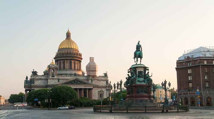 Sint-Petersburg, een van de nieuwe bestemmingen