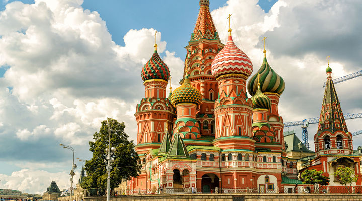 St. Basil's Cathedral, Moskou