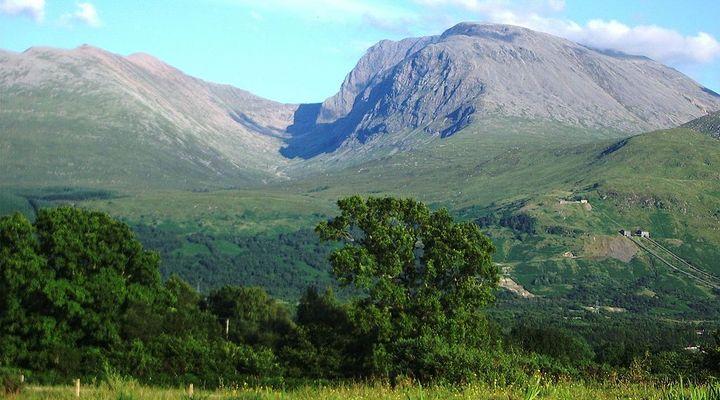 Ben Nevis in Schotland