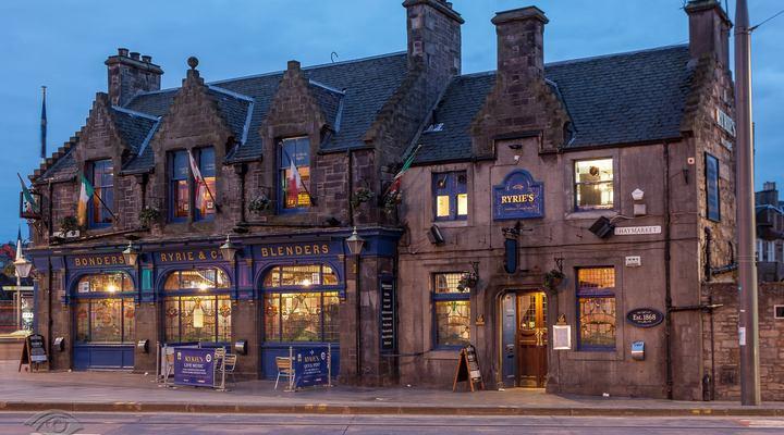 Een pub in het centrum