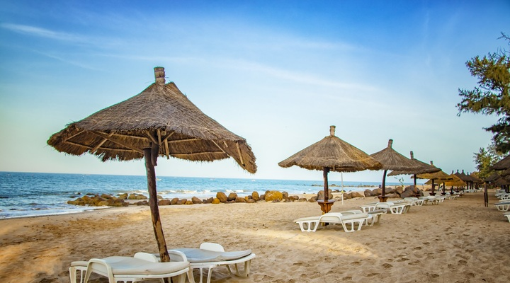Strand in Senegal