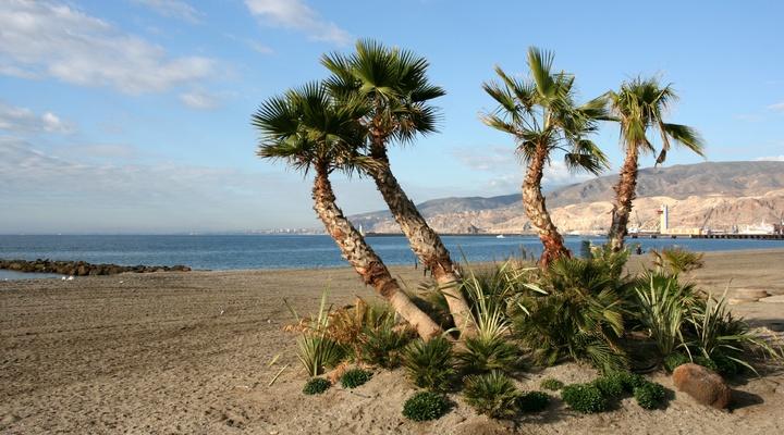 Strand in Costa de Almería