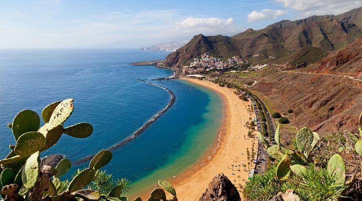 Het strand van Tenerife