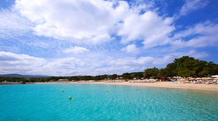 Het strand van Formentera