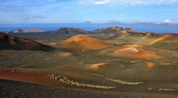 Landschap van Lanzarote