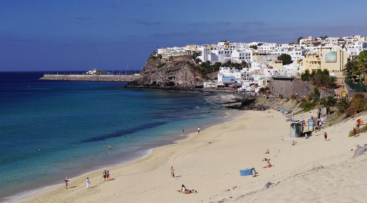 Strand op Fuerteventura