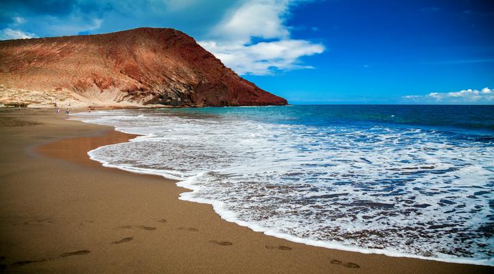 Strand en Montaña Roja, Tenerife