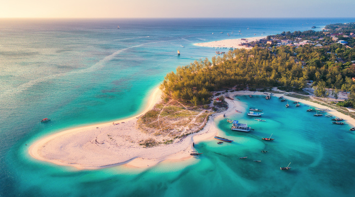 Kust van Zanzibar