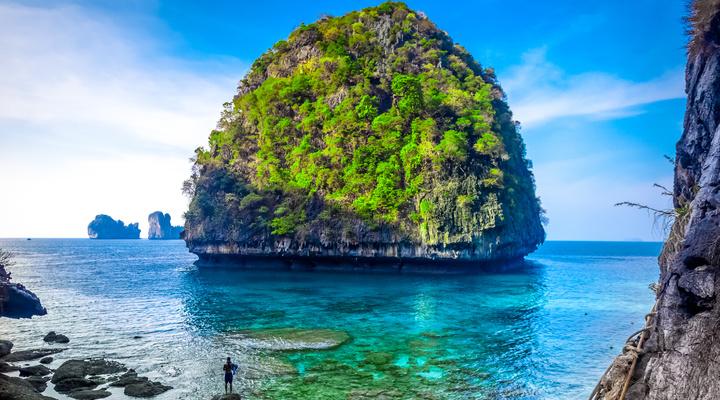 Thailand is normaal de topbestemming van Riksja