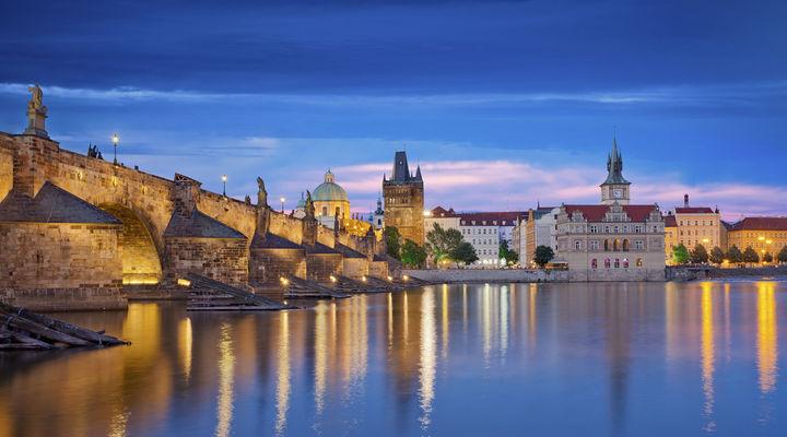 De prachtige stad Praag