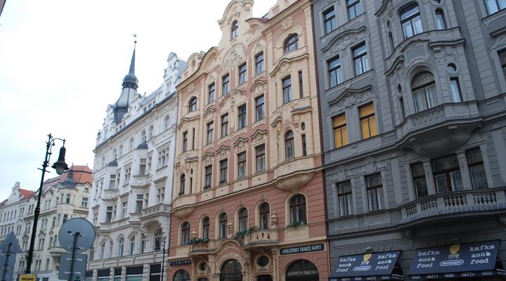 De straten van Praag