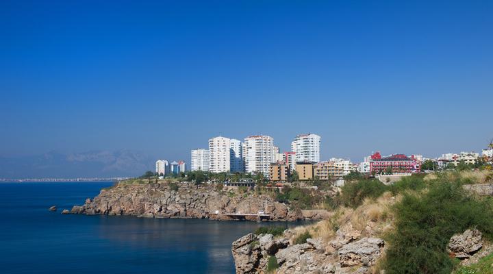 Badplaats Antalya