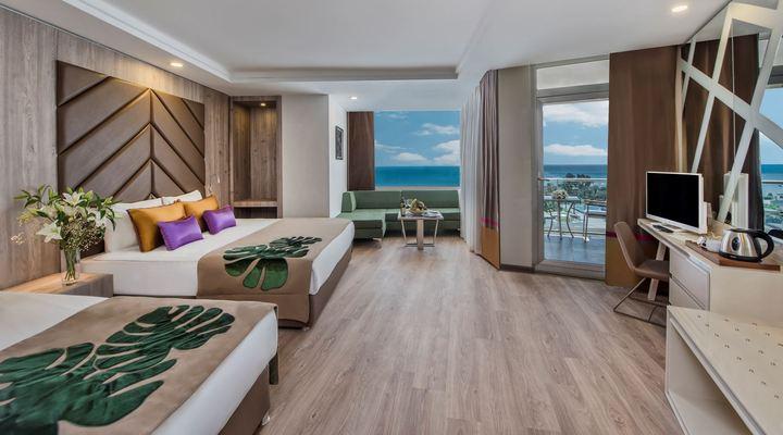 Gerenoveerde hotelkamer
