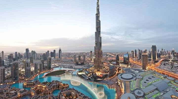 De Burj Khalifa in Dubai