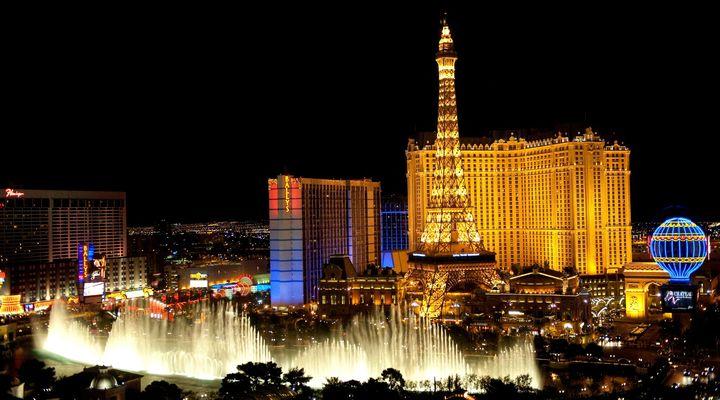 Las Vegas in de avond