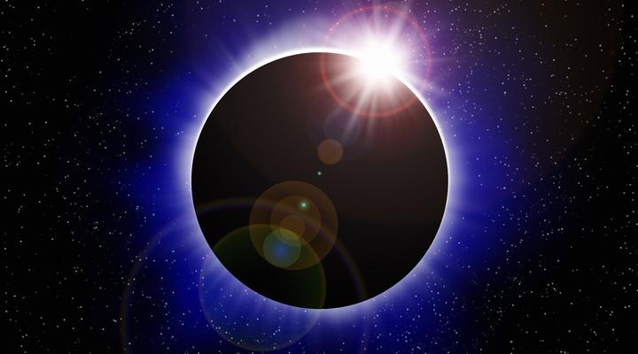 De prachtige eclips aanschouwen in de V.S.