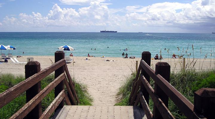 Miami Beach in de Verenigde Staten