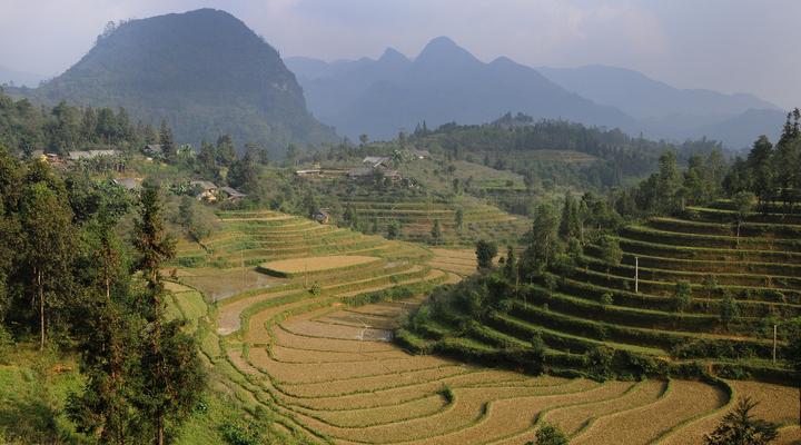 Landschappen Vietnam