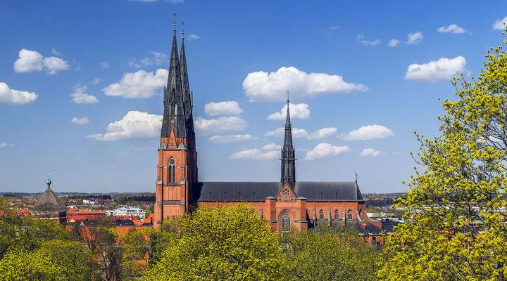 Kathedraal Uppsala - Zweden