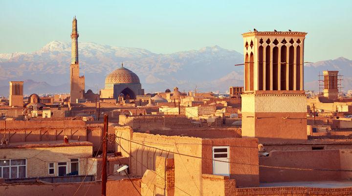 De oude stad Yazd
