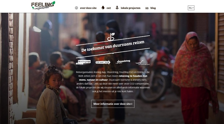 Koning Aap lanceert nieuwe website