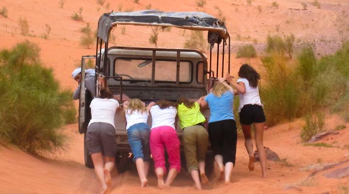 Vrouwen op reis