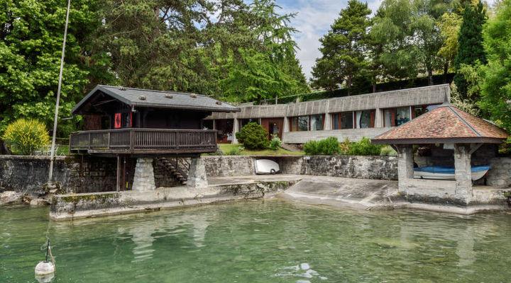 Het beroemde vakantiehuis de Duck House