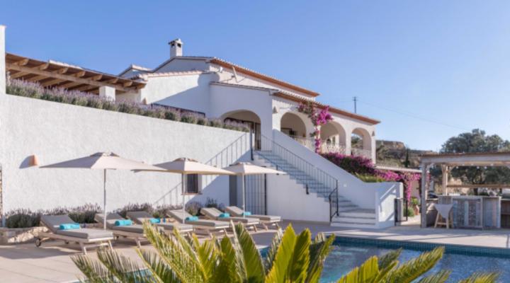 Nieuwe villa in Spanje