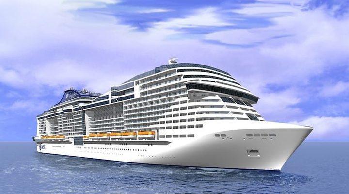 Het nieuwe vlaggenschip MSC Bellissima
