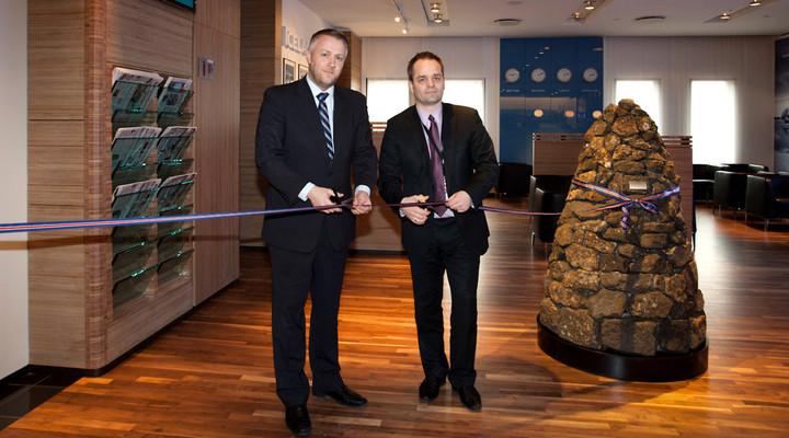 Opening Saga Lounge Icelandair