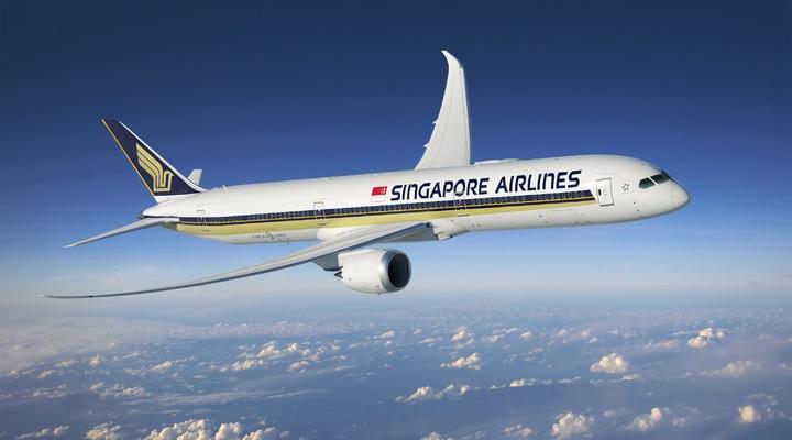 Vliegtuig Singapore Airlines