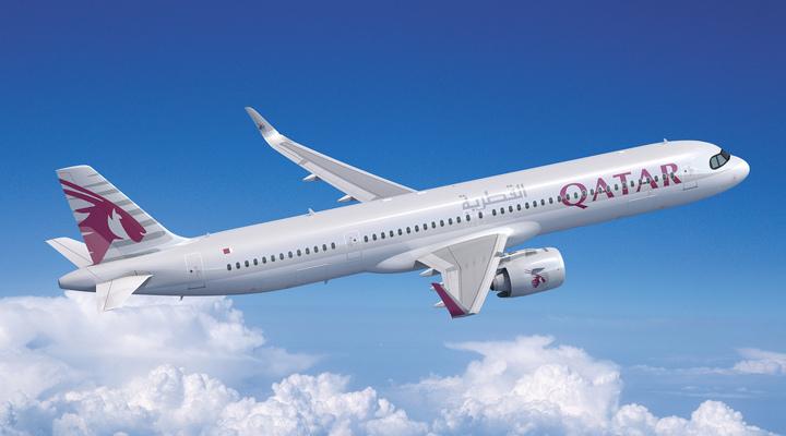 Vliegtuig Qatar Airways