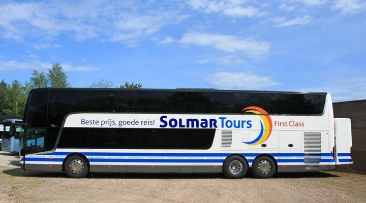 First Class bus Solmar Tours