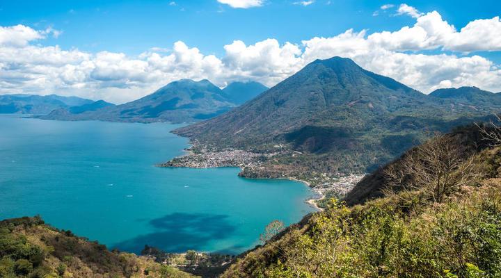 Prachtige natuur van Guatemala