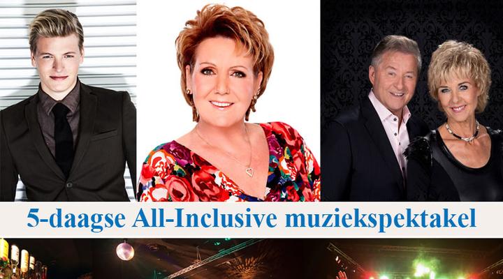Artiesten muziekspektakel Bolderman