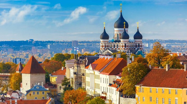 Busreis Baltische Staten en Sint-Petersburg