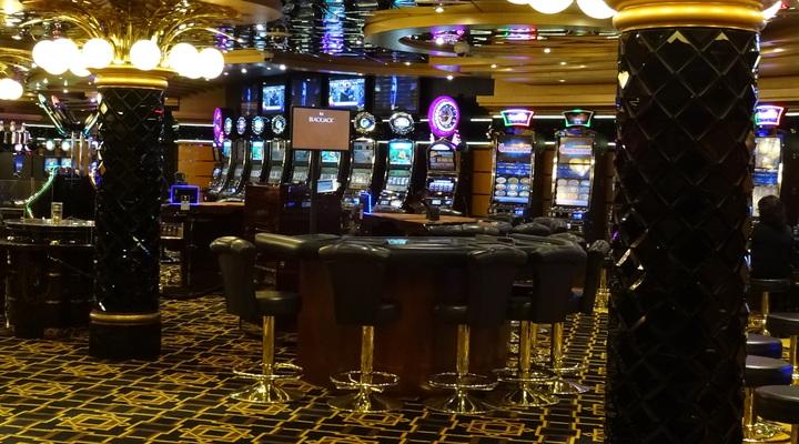 Casino aan boord van MSC Splendida