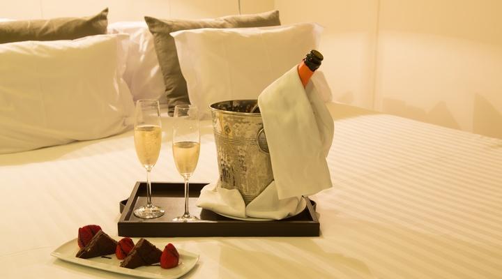 Overnachten in een luxe hotel
