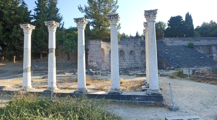 Oude ruïnes