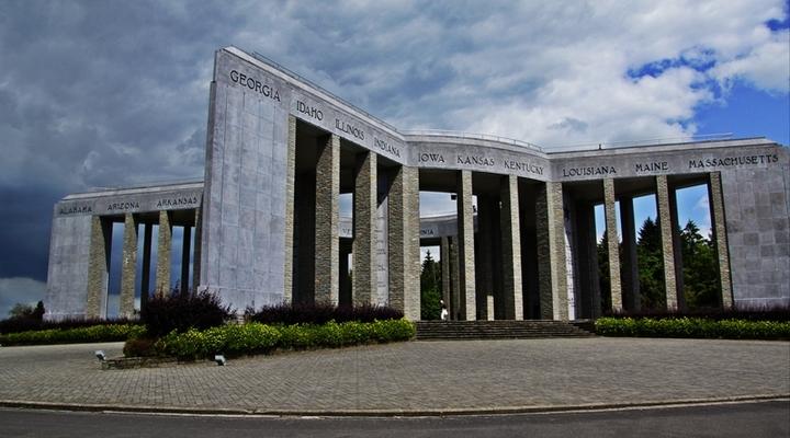 Het indrukwekkende monument