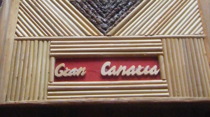 Het lege fotoboek over Gran Canaria