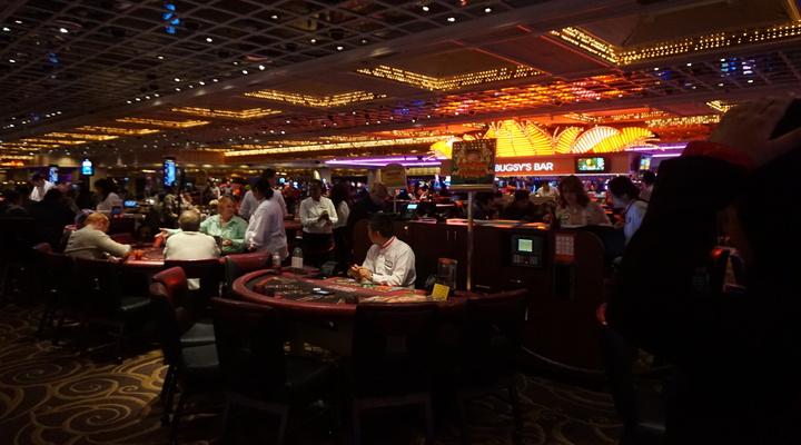 De casinovloer van het Flamingo resort