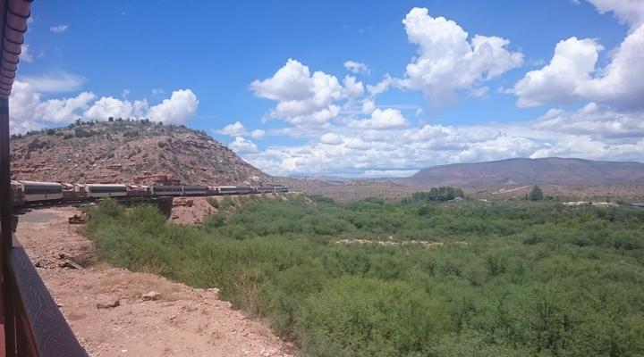 Met de trein door Verde Canyon